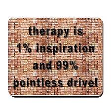 one percent inspiration Mousepad