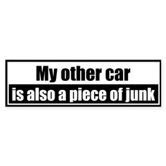 My other car is also a piece of junk