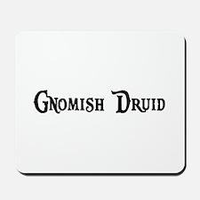 Gnomish Druid Mousepad