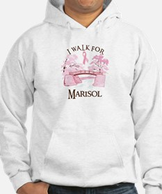 I walk for Marisol (bridge) Jumper Hoody