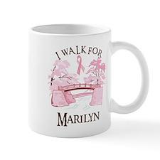 I walk for Marilyn (bridge) Mug