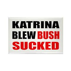 Katrina Blew, Bush Sucked Rectangle Magnet (10 pac