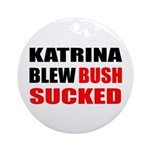 Katrina Blew, Bush Sucked Keepsake (Round)