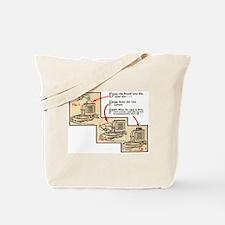 1-A-1 Single-Slice Toaster Tote Bag