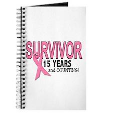 Breast Cancer Survivor 15 Years Journal