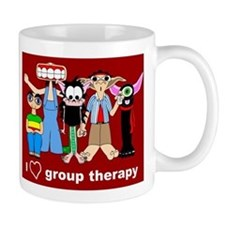 i love group therapy Mug
