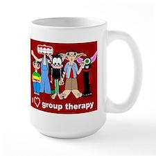 i love group therapy Mug