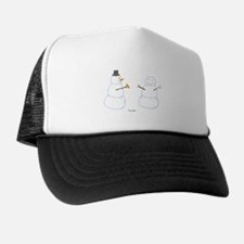 Snowman Donor The Gift Trucker Hat