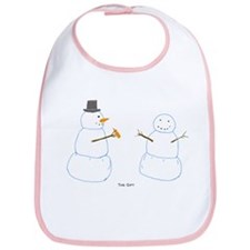 Snowman Donor The Gift Bib