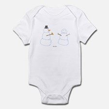 Snowman Donor The Gift Infant Bodysuit
