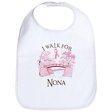 I walk for Nona (bridge) Bib
