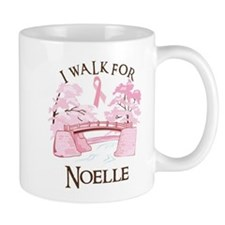 I walk for Noelle (bridge) Mug