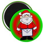 Masonic Santa Magnet