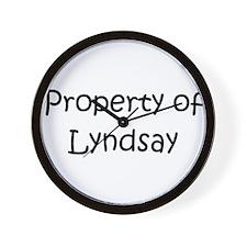Property Wall Clock
