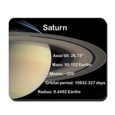 Saturn mousepad