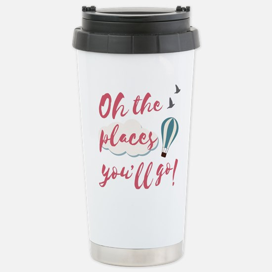 "Graduation gift ""O Stainless Steel Travel Mug"