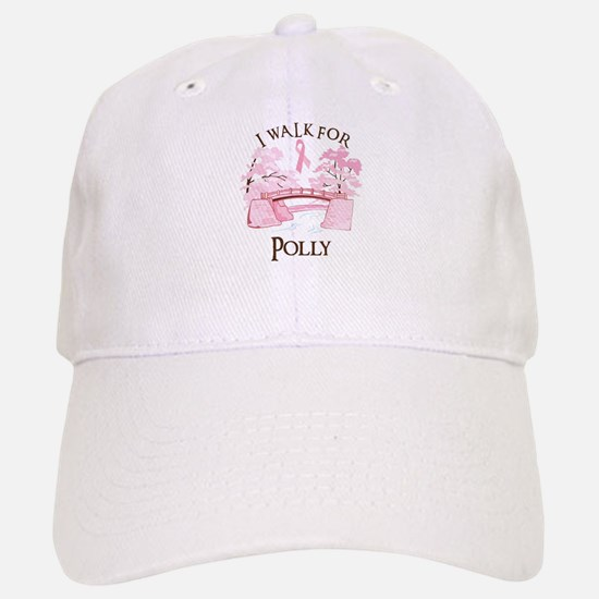 I walk for Polly (bridge) Baseball Baseball Cap