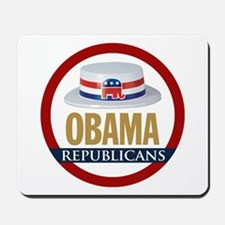 GOP for Obama 2008 Mousepad
