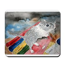 gerbil pet portrait art gift Mousepad