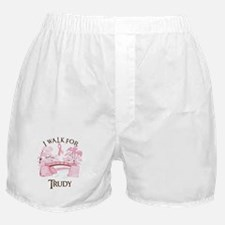 I walk for Trudy (bridge) Boxer Shorts