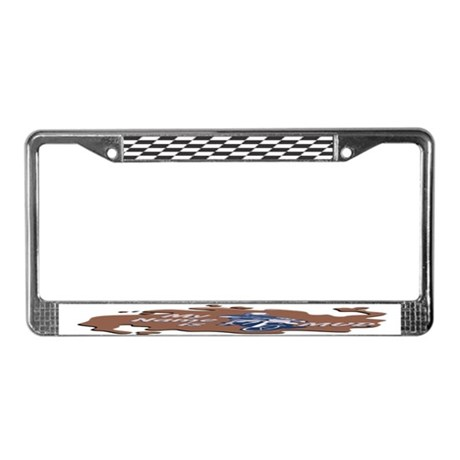 My Name Is Mud License Plate Frame