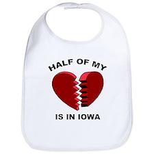 Heart In Iowa Bib