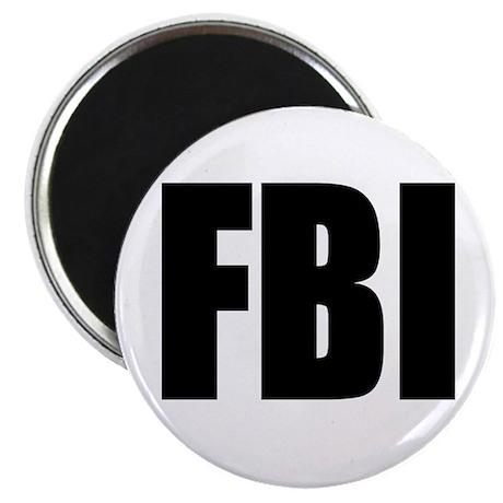 "FBI 2.25"" Magnet (10 pack)"