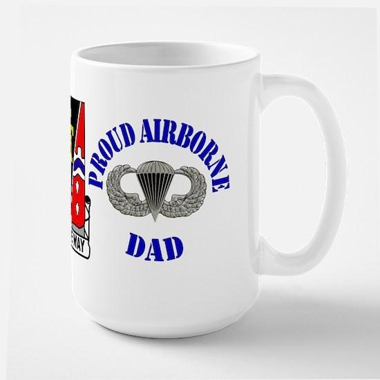 509th Airborne Dad Large Mug