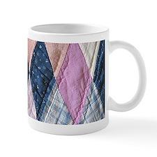 Vintage Amish Quilt Mug