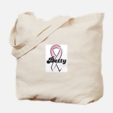 Betty Pink Ribbon Tote Bag