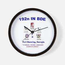Cute 1st bn 23rd infantry Wall Clock