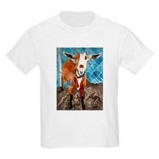 goat farm animal art gift T-Shirt