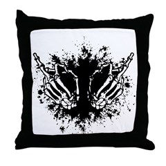 Double Boner Throw Pillow