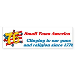 Small Town America Bumper Sticker (50 pk)