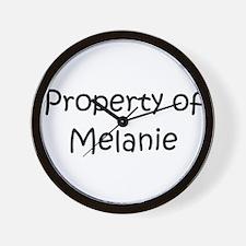 Unique Melanie Wall Clock