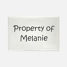 Cute Melanie Rectangle Magnet