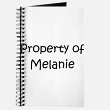 Cute Melanie Journal