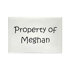 Cute Meghan Rectangle Magnet