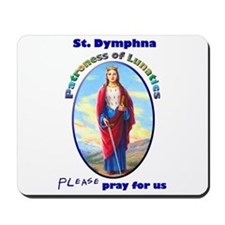 St. Dymphna Mousepad