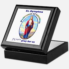 St. Dymphna Keepsake Box