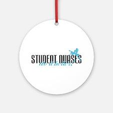 Student Nurses Do It Better! Ornament (Round)