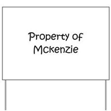 Unique Mckenzie Yard Sign