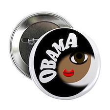 "Pro Obama 2.25"" Button"