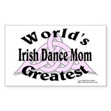 Greatest Mom - Rectangle Decal