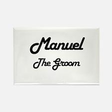 Manuel - The Groom Rectangle Magnet