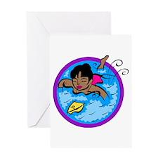 Pool Play! Greeting Card