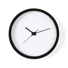 Macho Nurse Wall Clock