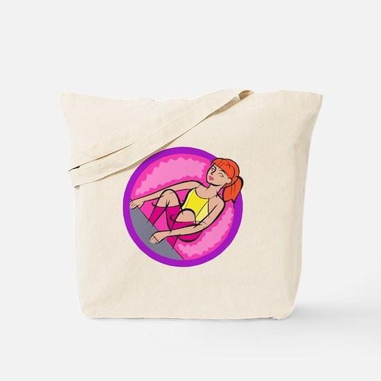 Back Stroke Tote Bag