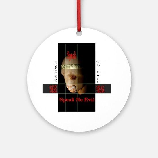 Speak No Evil - Keepsake (Round)