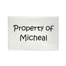 Funny Micheal Rectangle Magnet